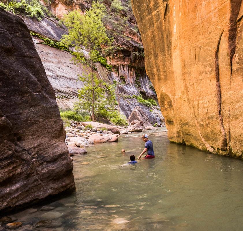 The Zion Narrows Zion National Park Zion Adventure Company