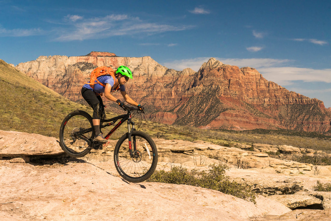 Zion Slick Rock Mountain Biking